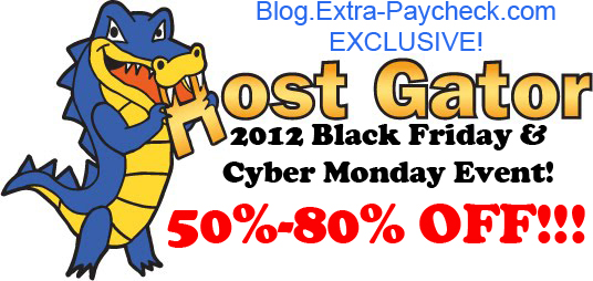 2012 Black Friday Hosting Sale