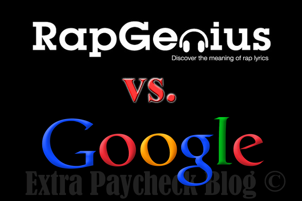 RapGenius.com Google Rankings
