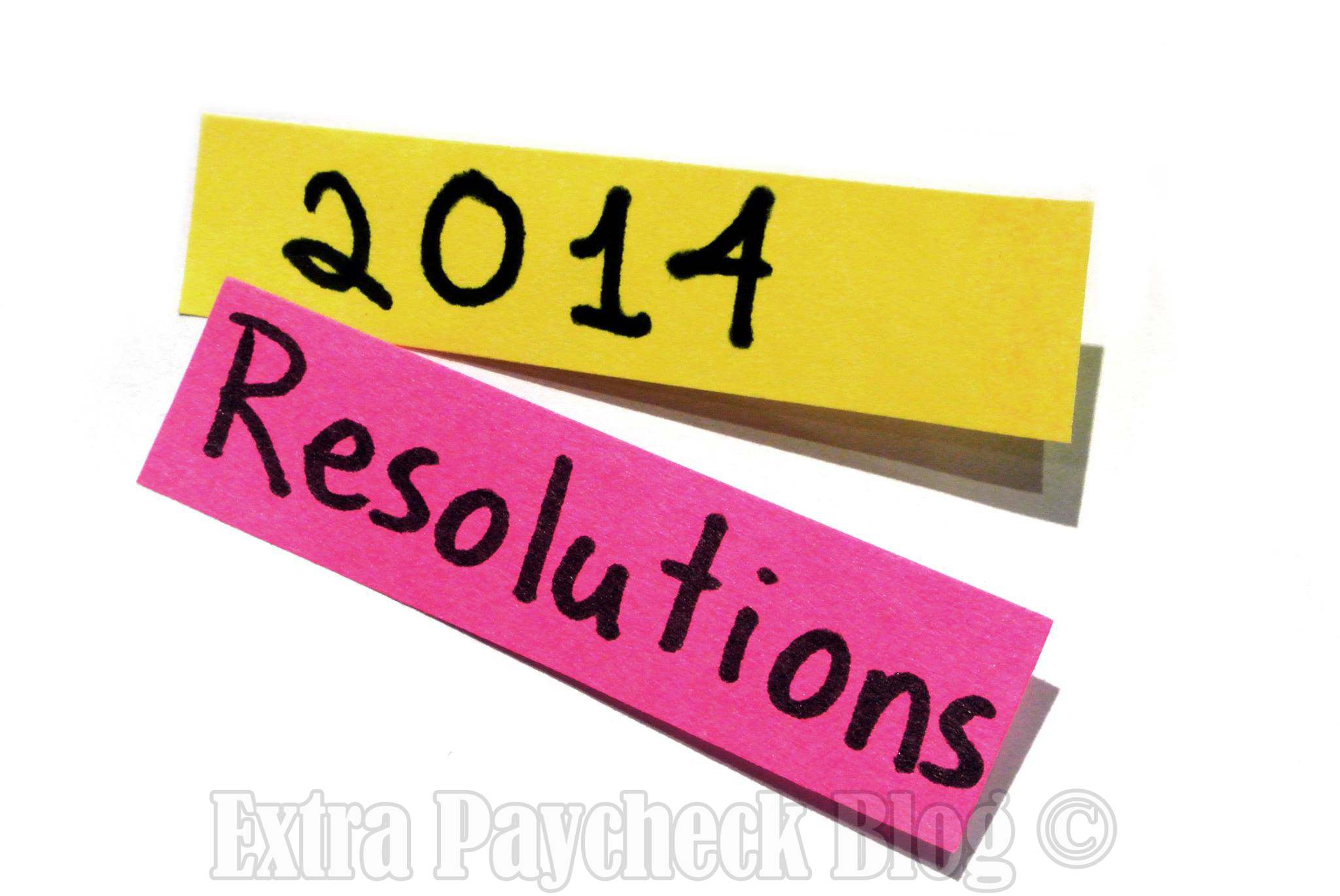2014 Resolutions for New Year