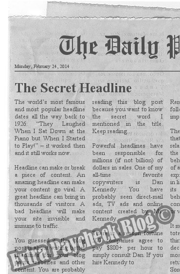 How to Write Better Headlines