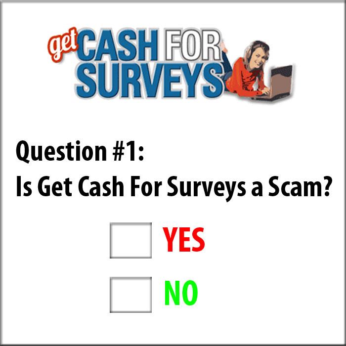 GetCashForSurveys Review Scam