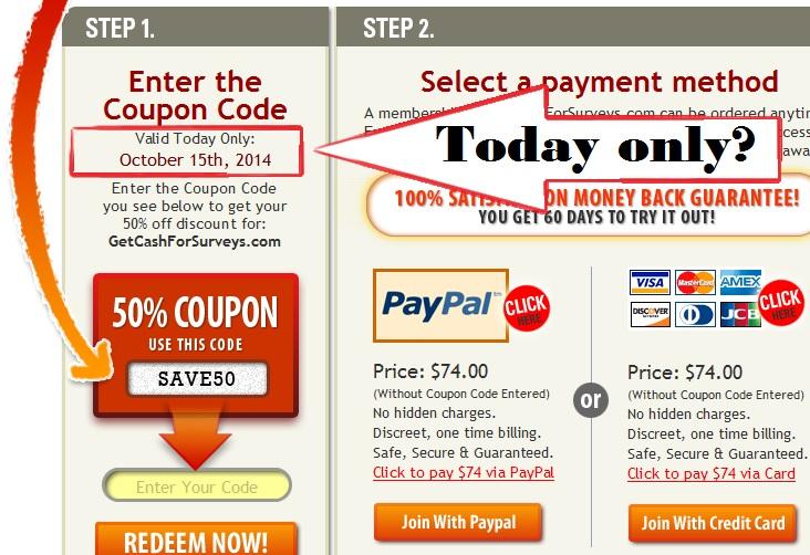 GetCashForSurveys.com review scam