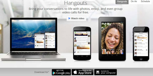 Use Google Hangout as Free Conference Room.