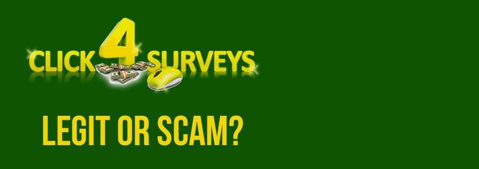 Click4Surveys – Clicking for a Scam?