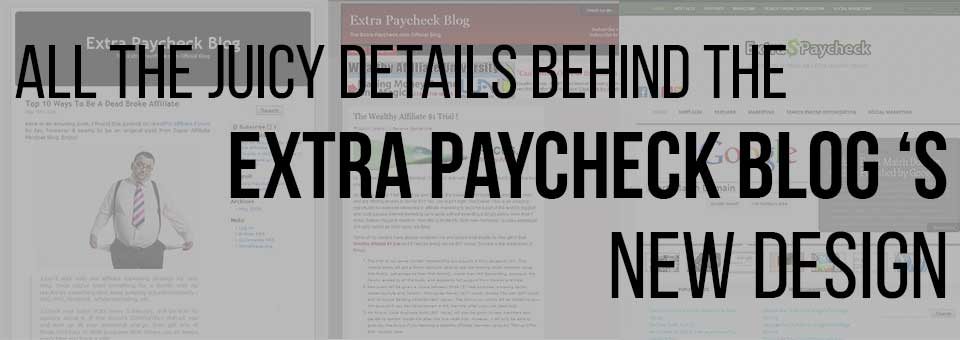 The Details Behind Extra Paycheck Blog Redesign