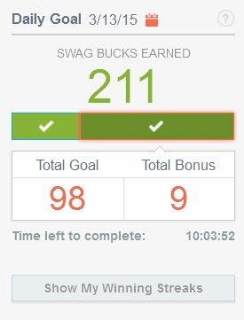 Earn more swagbucks