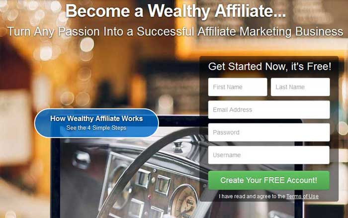 Wealthy Affiliate Free