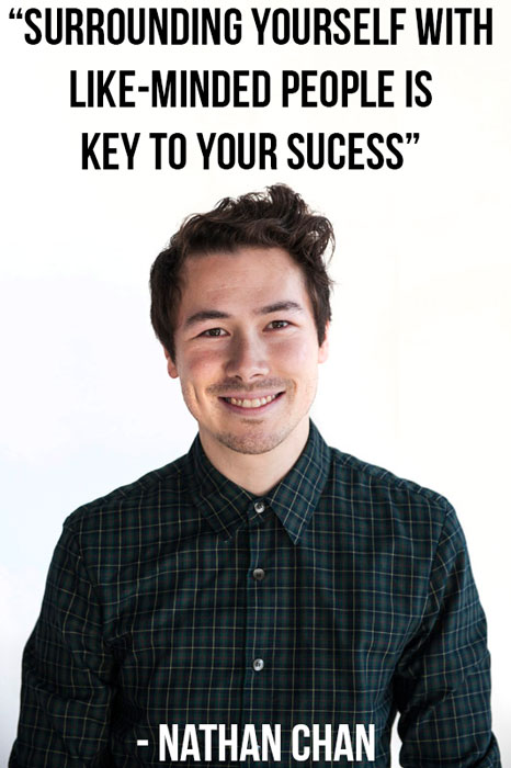 Nathan Chan from Foundr Magazine