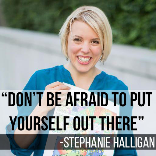 Stephanie Halligan on Extra Paycheck Podcast