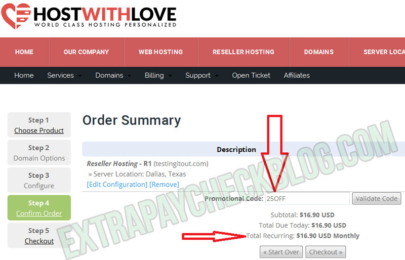 HostWithLove Discount