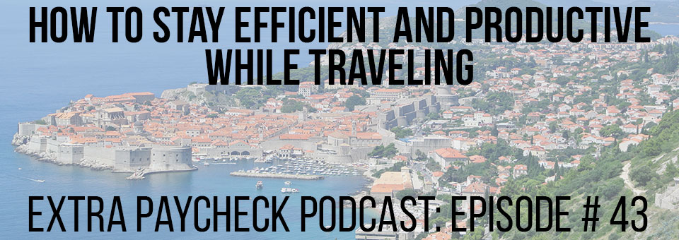 Stay productive while traveling
