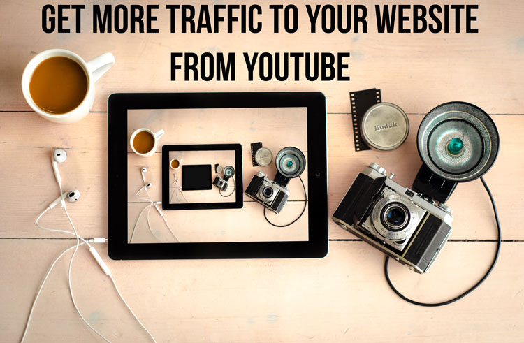 get traffic from video