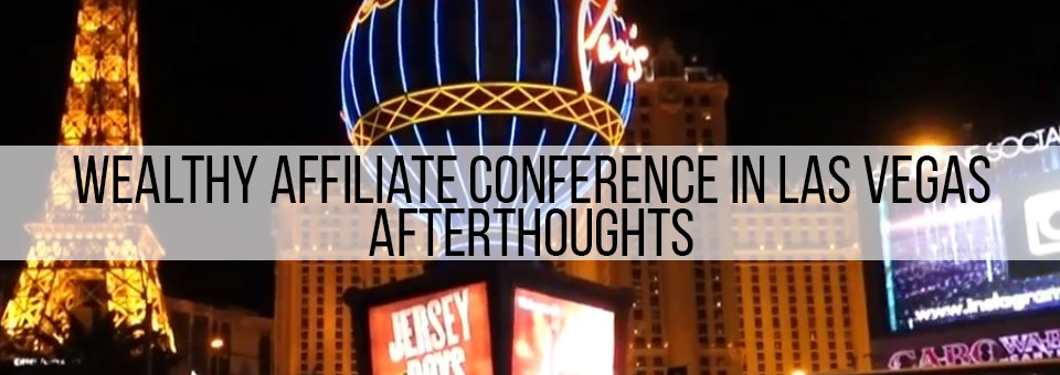 Private Marketing Conference in Las Vegas Afterthoughts