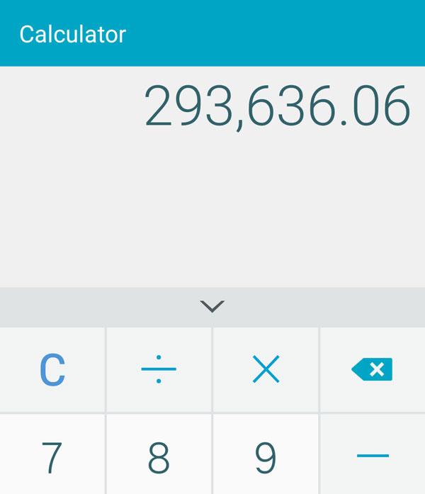 income in calculator