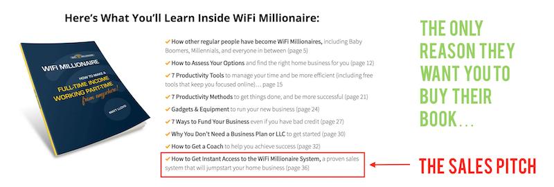 wifi millionaire scam