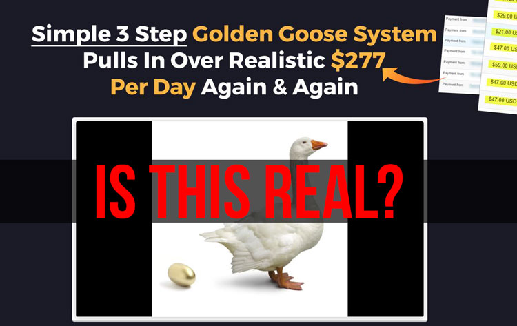 golden goose system scam