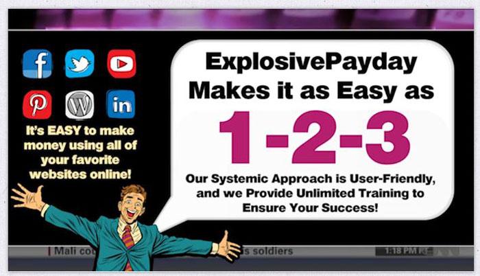 Explosive Payday Legit