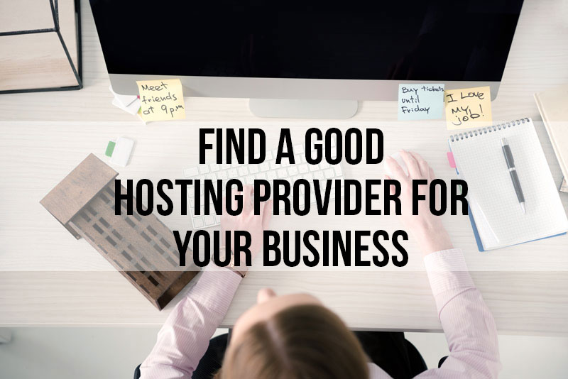 How to find a good website host