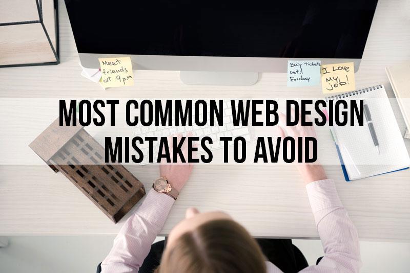 avoid website mistakes
