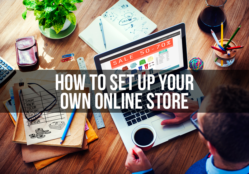 how to set up your onlinr shop