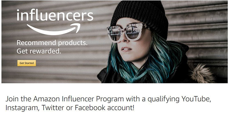 Amazaon Influencers Program