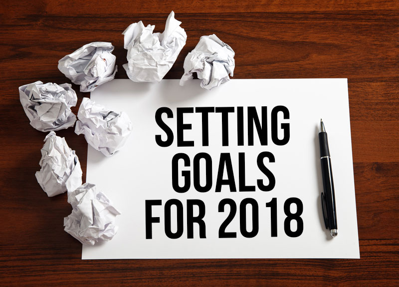 setting goals for 2018