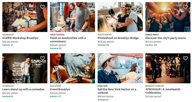 Airbnb Experiences SEO