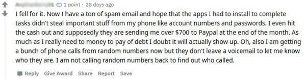 EZ Bucks Scam review