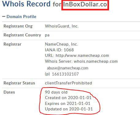 inbox dollar registration