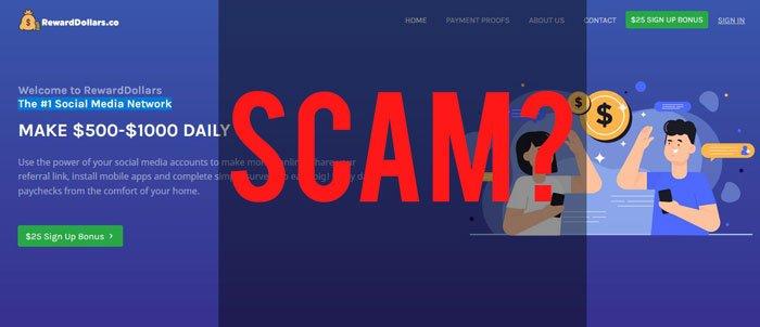 Reward Dollars Scam