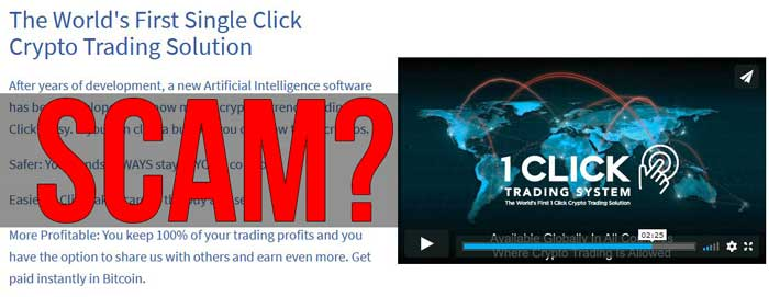 1 click trading system scam