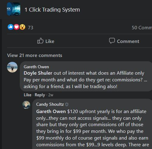 1 click trading system review