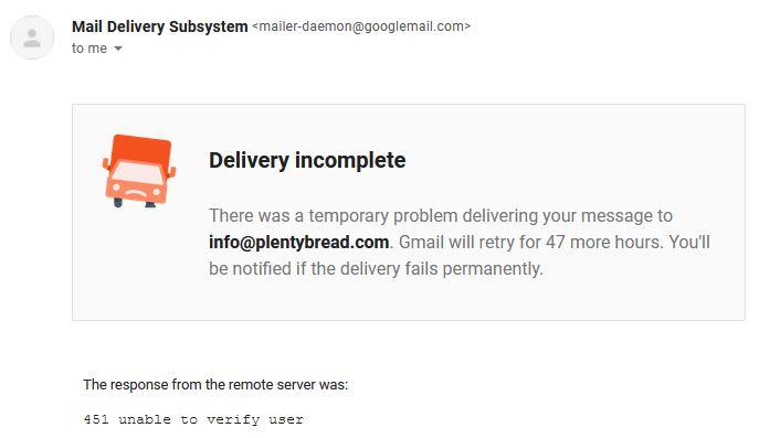 plentybread email scam