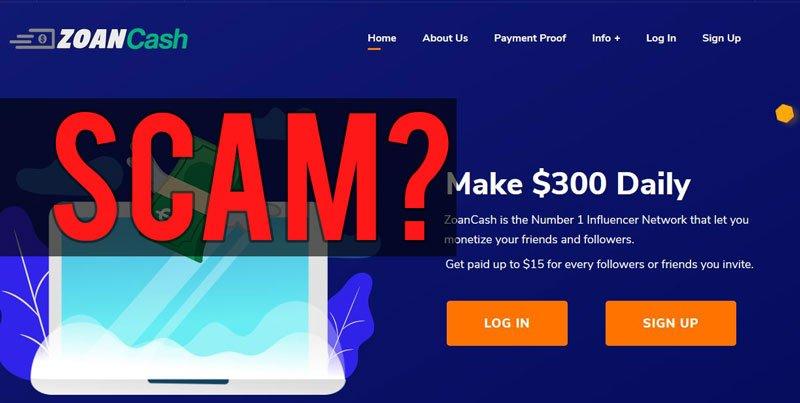 Zoan Cash scam review