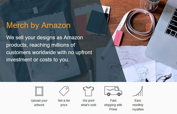 Earn with Merch by Amazon